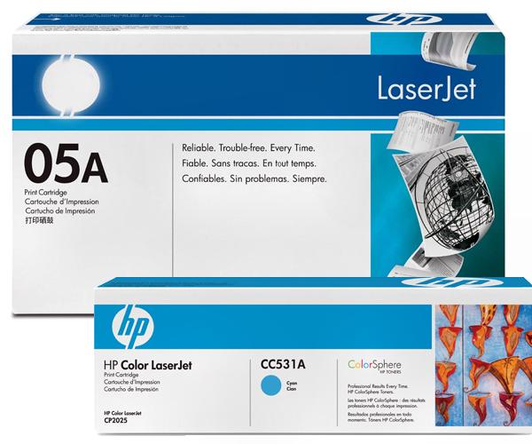 Оригинальные тонер-картриджи HP к HP LaserJet