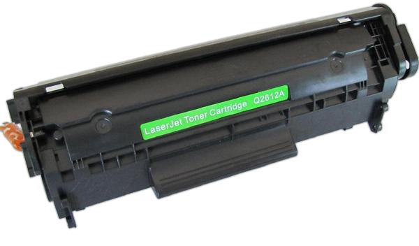 Совместимый тонер-картридж к принтерам HP и Canon. Сделано в Китае.