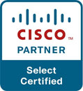Официальный партнер Cisco с компетенцией Select Certified Partner.