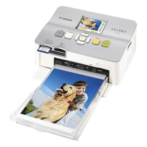 Canon славится своими сублимационными принтерами семейства SELPHY