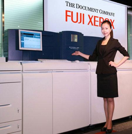 Цифровая типография Xerox Nuvera – не из тех устройств, которые умещаются на тумбочку…