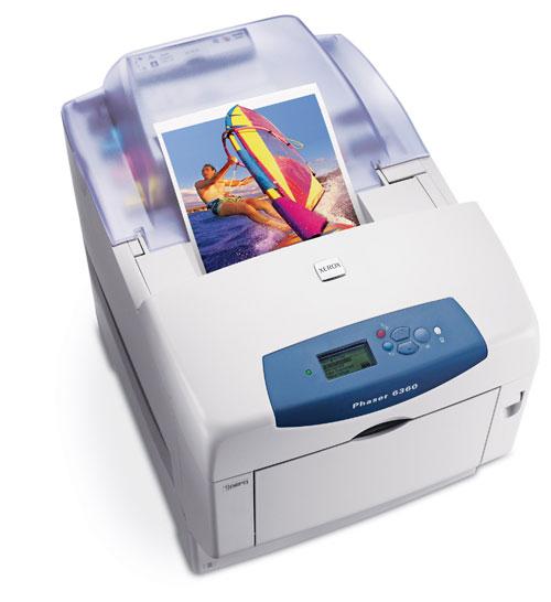 Принтер Xerox Phaser 6360 передаст оригинал во всех красках