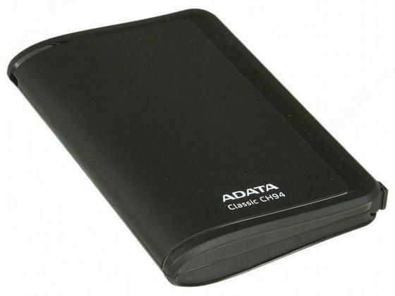 Внешний жесткий диск A-Data Classic CH94 Black 2.5