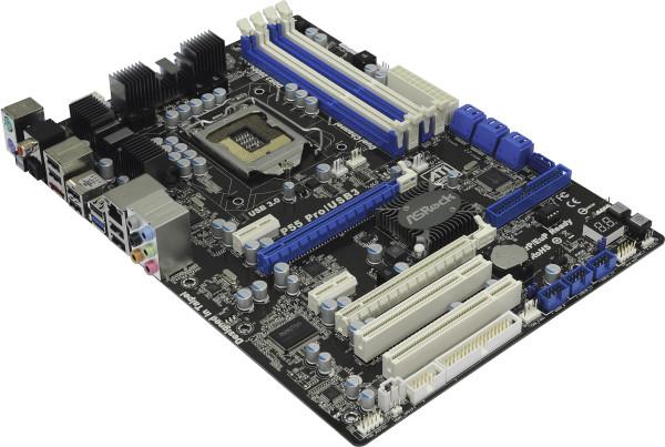 Купить Материнская плата ASRock P55 Pro/USB3 (P55 PRO/USB3) фото 5
