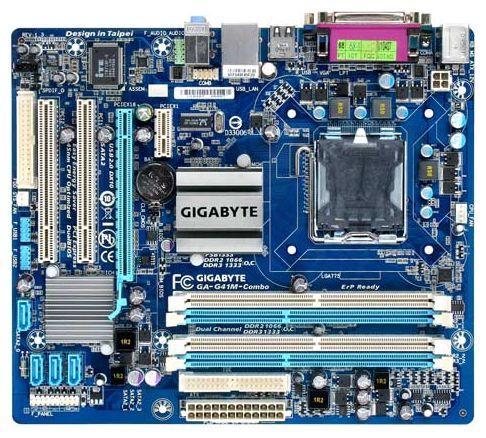 Купить Материнская плата Gigabyte GA-G41M-Combo (rev. 1.3) (GA-G41M-Combo) фото 1