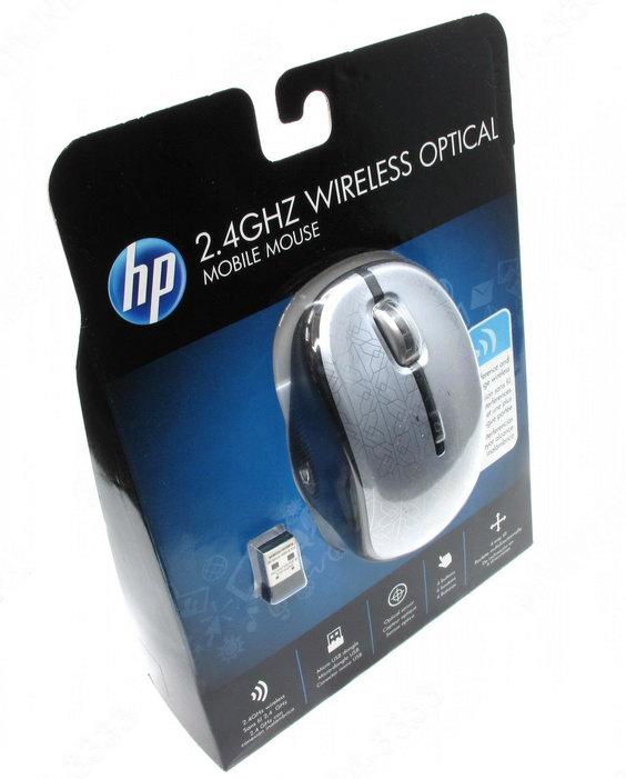 Купить Мышь HP WE790AA Silver-Black USB (WE790AA) фото 3