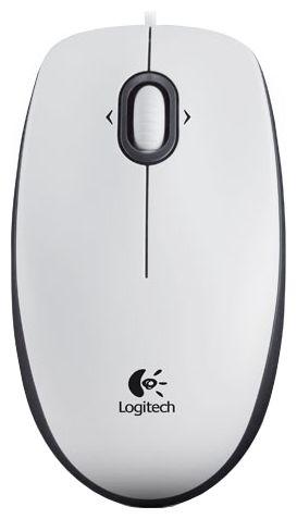 Купить Мышь Logitech Mouse M100 White USB (910-001605) фото 1