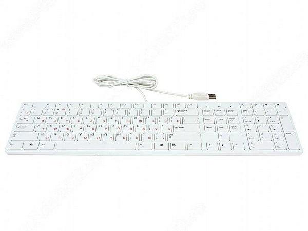 Купить Клавиатура BTC 6310U White USB (6310U-W) фото 2