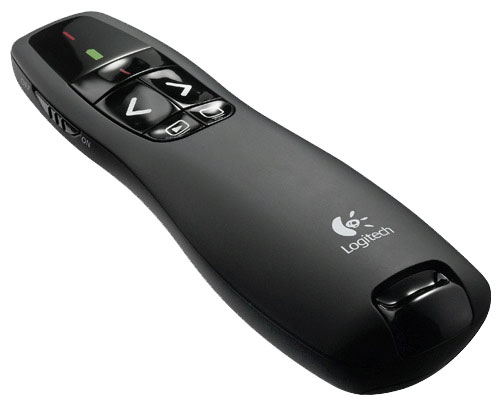 Купить Мышь Logitech Wireless Presenter R400 Black USB (910-001357) фото 1