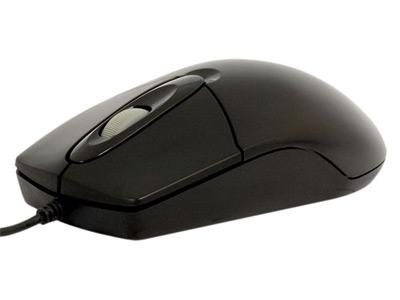 Купить Мышь A4 Tech OP-720 Black PS/2 (OP-720/B) фото 2