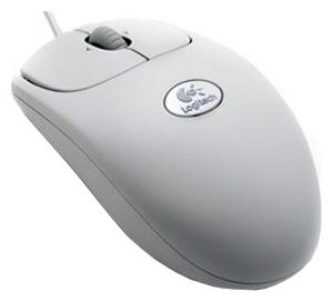 Купить Мышь Logitech RX250 Optical Mouse Grey USB+PS/2 (910-000185) фото 1