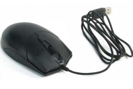 Купить Мышь A4 Tech OP-200Q Black USB (OP-200Q) фото 3
