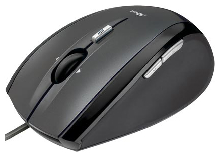Купить Мышь Trust XpertClick Optical Mini Mouse MI-2830Rp Black USB (15314) фото 1