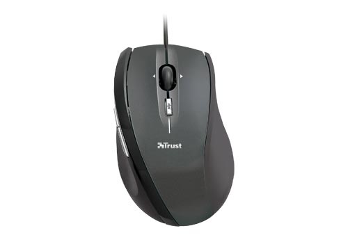 Купить Мышь Trust XpertClick Optical Mini Mouse MI-2830Rp Black USB (15314) фото 2