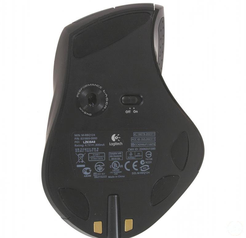 Купить Мышь Logitech MX Revolution Black USB (931689-0914) фото 3