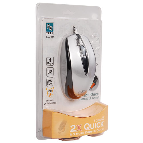 Купить Мышь A4 Tech X5-3D Silver USB+PS/2 (X5-3D-5) фото 4
