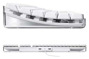 Купить Клавиатура Apple M9034 Keyboard White USB (M9034Z/A) фото 2