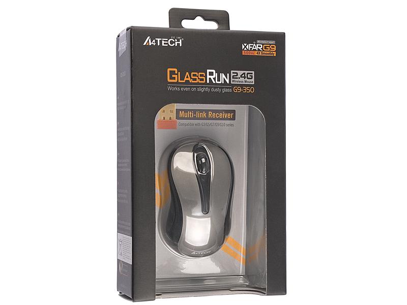 Купить Мышь A4 Tech G9-350 Grey USB (G9-350-2) фото 2