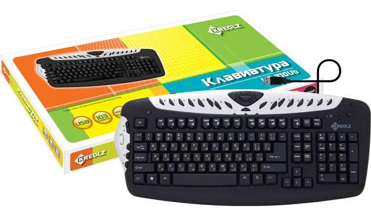 Купить Клавиатура Kreolz KP 310Ub Black USB (KP310UB) фото 2