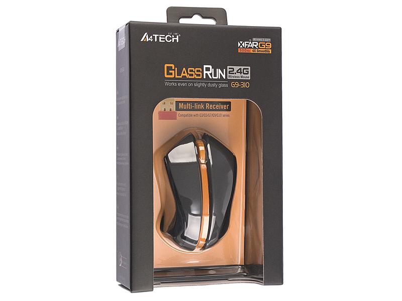 Купить Мышь A4 Tech G9-310-4 Black-Orange USB (G9-310-4) фото 3