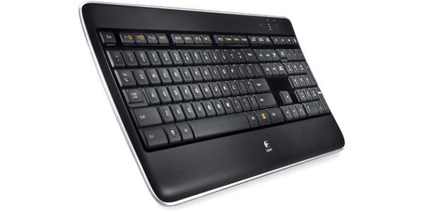 Купить Клавиатура Logitech Wireless Illuminated Keyboard K800 Black USB (920-002395) фото 2
