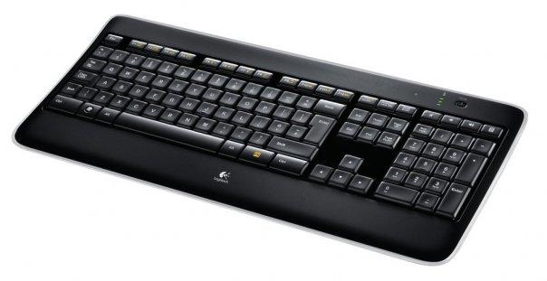 Купить Клавиатура Logitech Wireless Illuminated Keyboard K800 Black USB (920-002395) фото 3