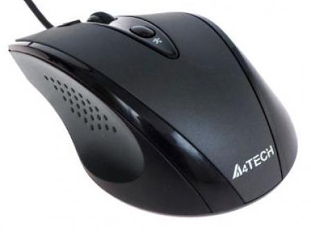 Купить Мышь A4 Tech N-770FX Black USB (N-770FX) фото 2