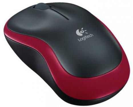 Купить Мышь Logitech Wireless Mouse M185 Red USB (910-002240) фото 2