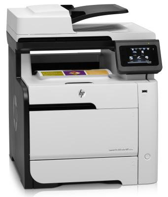 Купить МФУ HP Color LaserJet Pro 300 M375nw (CE903A) фото 1