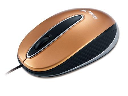 Купить Мышь Genius NX-Mini Gold USB (GM-NX Mini Gd) фото 2