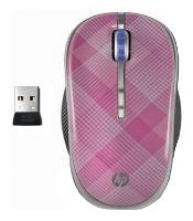 Купить Мышь HP LG143AA Raspberry Plaid Red USB (LG143AA) фото 1