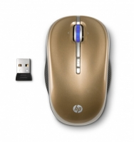 Купить Мышь HP LP336AA Gold-Black USB (LP336AA) фото 2