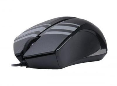 Купить Мышь A4 Tech D-312 DustFree Mouse Black USB (D-312) фото 2