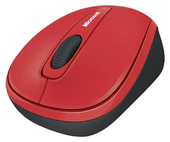 Купить Мышь Microsoft Wireless Mobile Mouse 3500 Limited Edition Flame Red USB (GMF-00293) фото 2