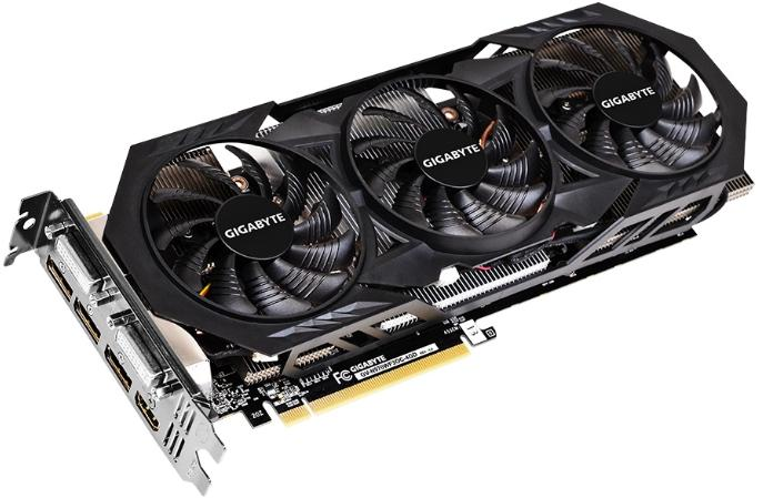 Купить Видеокарта Gigabyte GeForce GTX 970 1114Mhz PCI-E 3.0 4096Mb 7000Mhz 256 bit 2xDVI HDMI HDCP (GV-N970WF3OC-4GD) фото 2