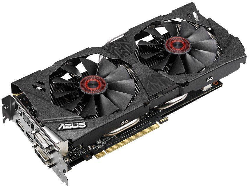 Купить Видеокарта Asus GeForce GTX 970 1114Mhz PCI-E 3.0 4096Mb 7010Mhz 256 bit 2xDVI HDMI HDCP (STRIX-GTX970-DC2OC-4GD5) фото 3