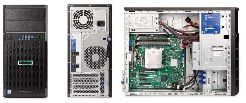 Купить Сервер напольный HP ProLiant ML30 G9 (830893-421) фото 2
