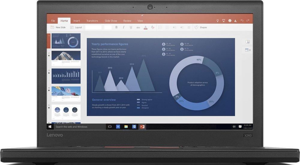 Купить Ноутбук Lenovo ThinkPad X260 (20F5S61G00) фото 1