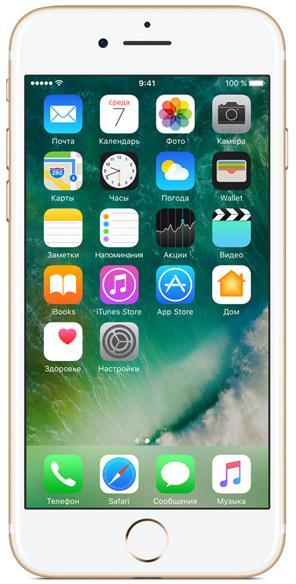 Купить Сотовый телефон Apple IPhone 7 32 Gb Gold (MN902RU/A) фото 1