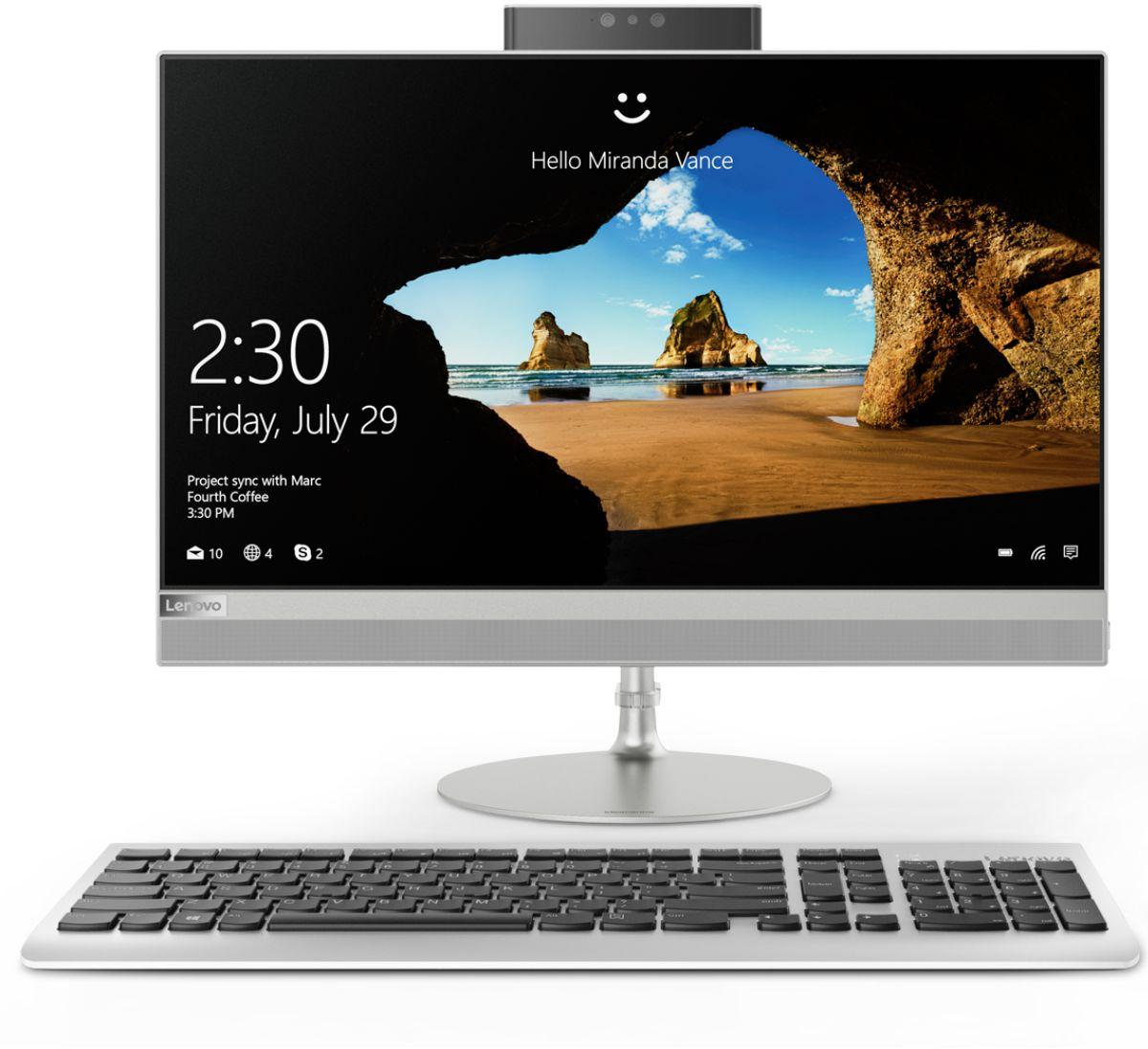Купить Моноблок Lenovo IdeaCentre 520-22IKU (F0D5000KRK) фото 2