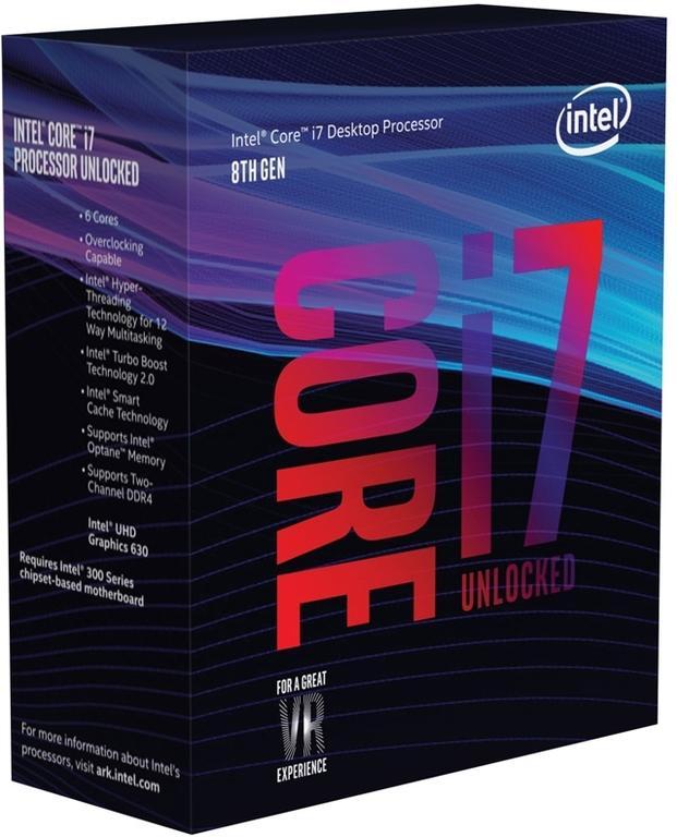 Купить Процессор Intel Core i7-8700K (BX80684I78700K S R3QR) фото 2