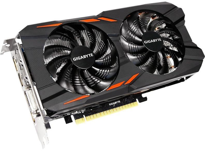 Купить Видеокарта Gigabyte GeForce GTX 1050 (GV-N105TWF2OC-4GD) фото 1