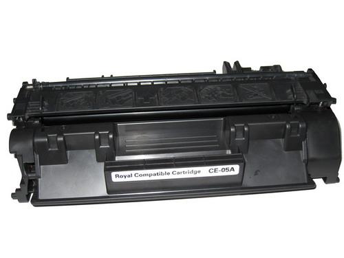 Купить Лазерный картридж HP CE505A черный (CE505A) фото 2