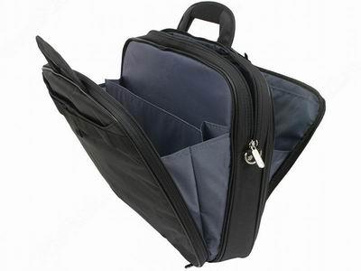 "Купить Сумка для ноутбука Targus Notepac Plus - Atmosphere Range 15.4"" Black-Blue (TNT006EU) фото 2"