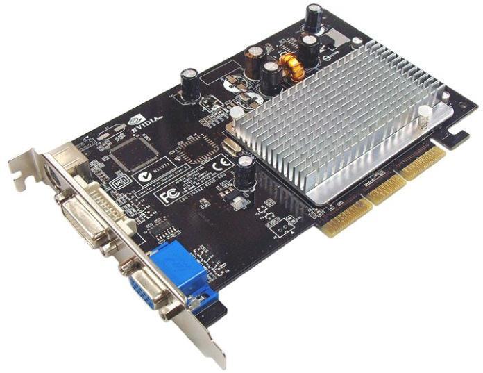 Видеокарта InnoVISION GeForce 6200 350 Mhz AGP 512 Mb 533 Mhz 64 bit DVI TV N006-CBD2