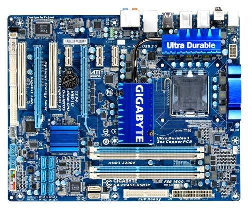 Материнская плата Gigabyte GA-EP45T-USB3P (rev. 1.0)