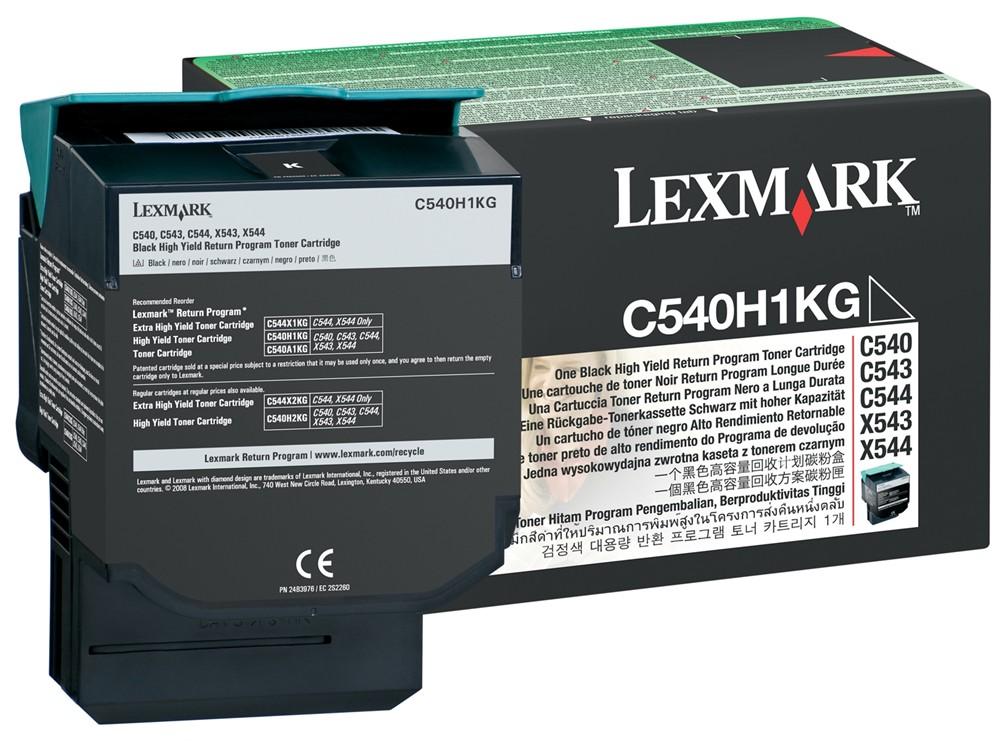 Тонер-картридж Lexmark C540H1KG