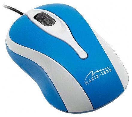 Мышь Media-Tech MT1080B Blue-White USB