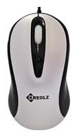 Мышь Kreolz ME872L Black-Silver USB