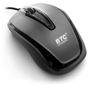 Мышь BTC M888PU Gray USB
